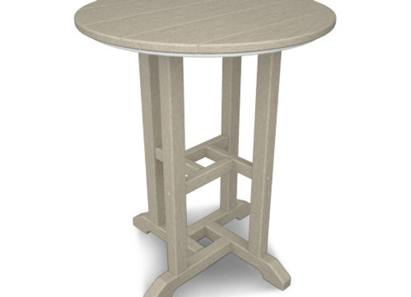 """POLYWOOD® Traditional 24"""" Round Dining Table RT124"""
