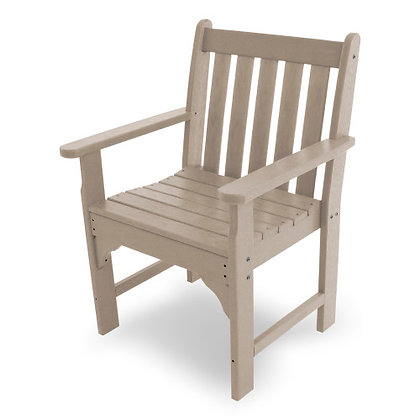Quick Ship POLYWOOD® Vineyard Garden Arm Chair GNB24