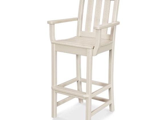 POLYWOOD® La Casa Cafe' Bar Arm Chair TD202