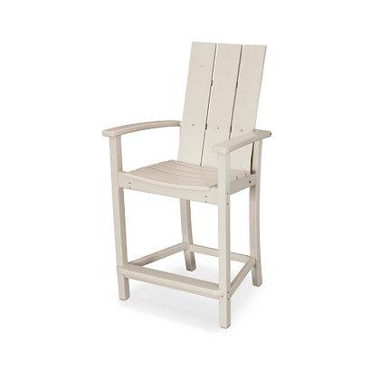 POLYWOOD® Modern Adirondack Counter Chair MLD201