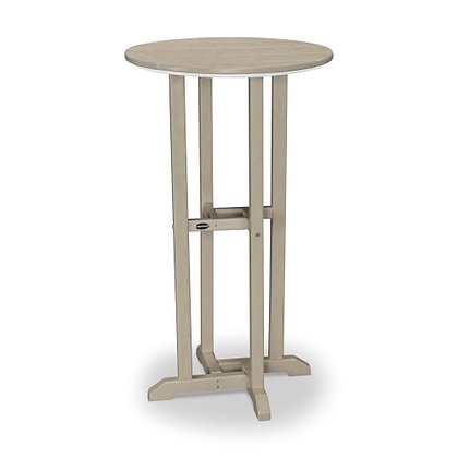 "POLYWOOD® Traditional 24"" Round Bar Table RBT124"