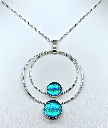 Pauline Necklace in Caribbean Opal