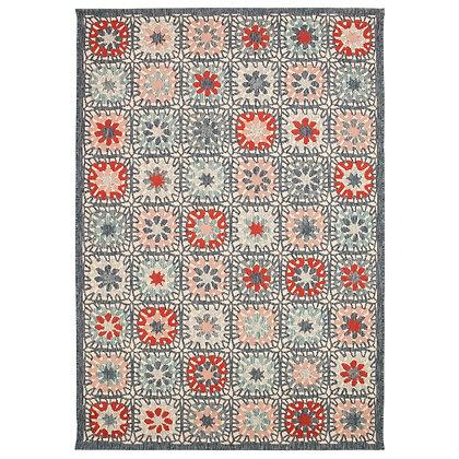 Portofino Boho Tiles Indoor/Outdoor Rug