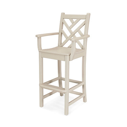 POLYWOOD® Chippendale Bar Arm Chair CDD202