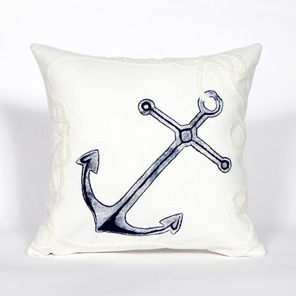 """Visions II Marina Indoor/Outdoor Pillow 20""""Square"""