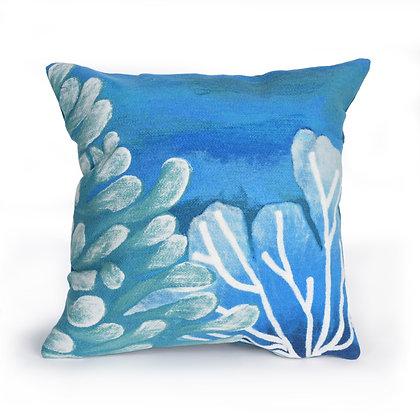 "Visions II Reef Indoor/Outdoor Pillow 20""Square"
