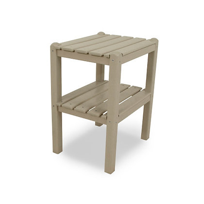 POLYWOOD® Two Shelf Side Table TWST
