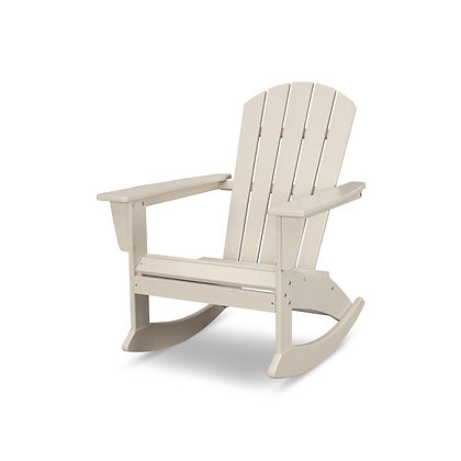POLYWOOD® Nautical Adirondack Rocking Chair ADR410