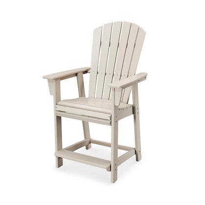 POLYWOOD® Nautical Adirondack Counter Chair ADD611