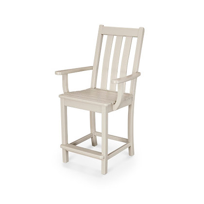 POLYWOOD® Vineyard Counter Arm Chair VND231