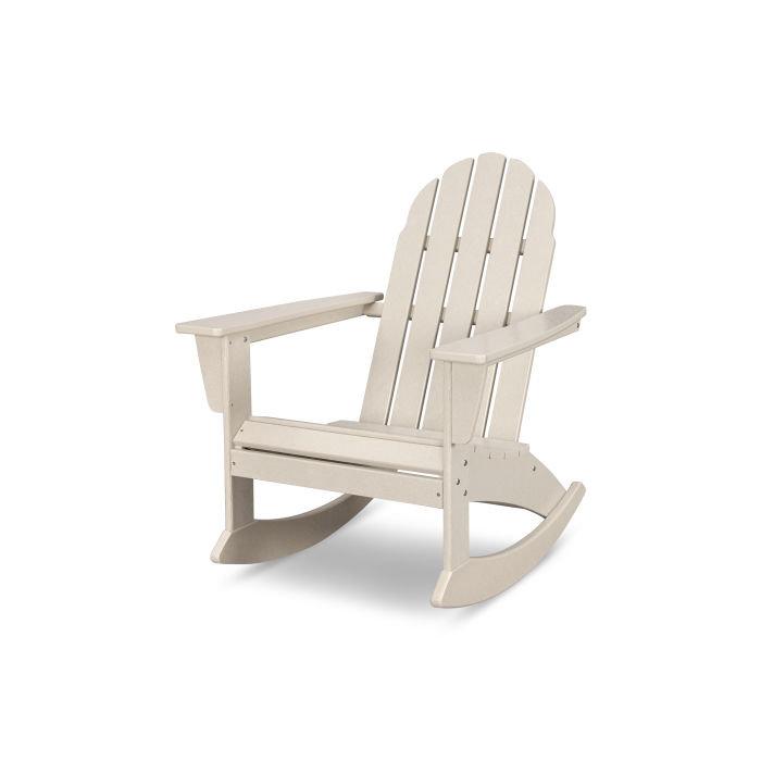 Polywood Vineyard Adirondack Rocking Chair Adr400 Saltwater