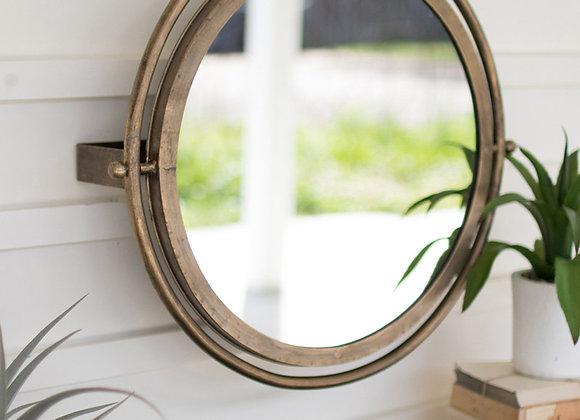 Round Wall Mirror with adjustable bracket
