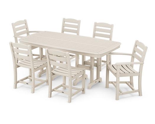 Quick Ship POLYWOOD®La Casa Cafe' 7-Piece Dining Set PWS131-1