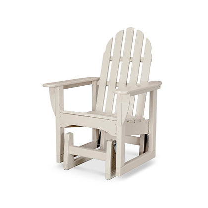 POLYWOOD® Classic Adirondack Glider Chair ADSGL-1