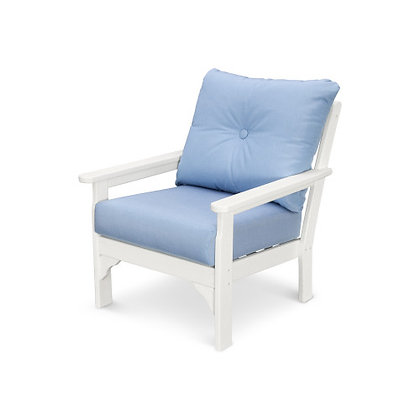In Stock POLYWOOD® Vineyard Deep Seating Chair GN23 (SHIPPING UNAVAILABLE)