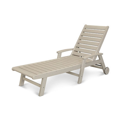 POLYWOOD® Signature Chaise with Wheels SW2280