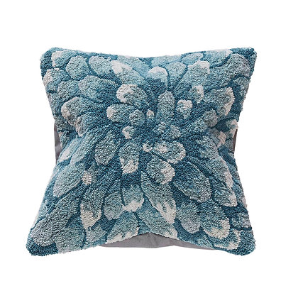 "Frontporch Mums Indoor/Outdoor Pillow 18""Square"