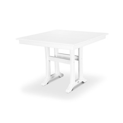 "In Stock POLYWOOD® Farmhouse 37"" Dining Table PL81-T1L1(SHIPPING UNAVAILABLE)"