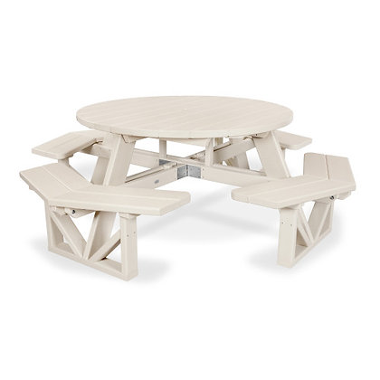 "POLYWOOD® Park 53"" Octagon Picnic Table PH53"