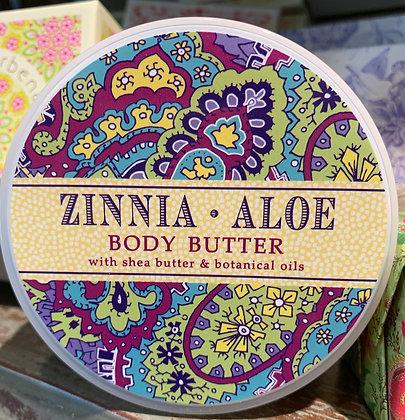 Zinnia Aloe Body Butter