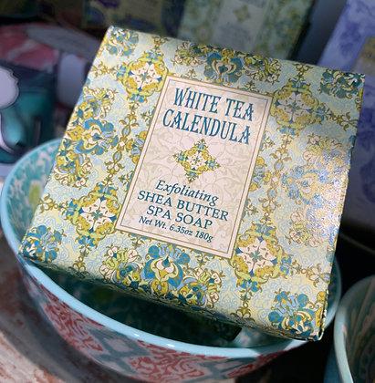 White Tea Calendula Spa Soap