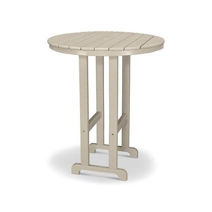 "POLYWOOD® Round 36"" Bar Table RBT236"