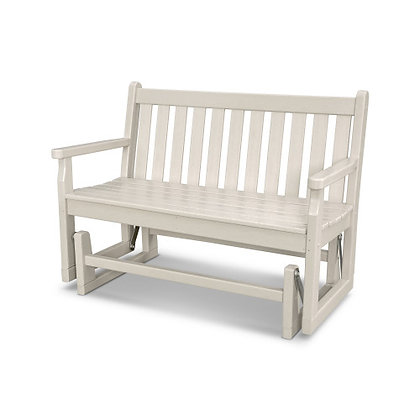 "Quick Ship POLYWOOD® Traditional Garden 48"" Glider TGG48"