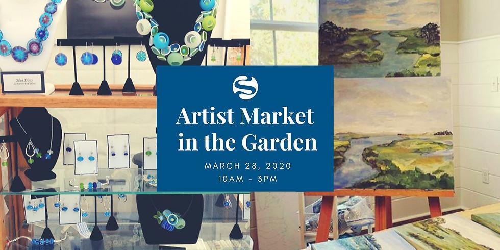 Artist Market in the Garden