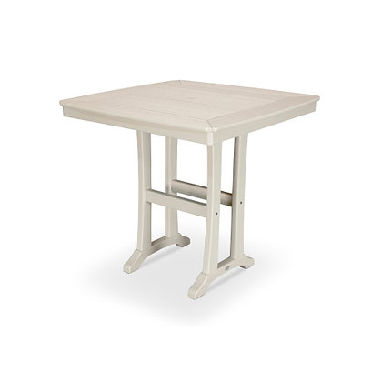 "POLYWOOD® Nautical Trestle 37"" Counter Table PLR81-T2L1"