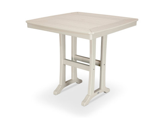 "POLYWOOD® Nautical Trestle 37"" Counter Table PLR81-T2L1"