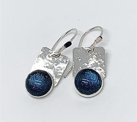Jenny Earrings in Peacock