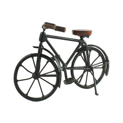IRON AND WOOD BICYCLE