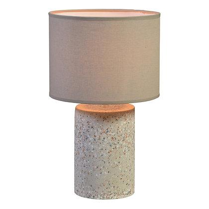 TERRA TABLE LAMP, TERRAZZO, LIGHT GREY - LRG
