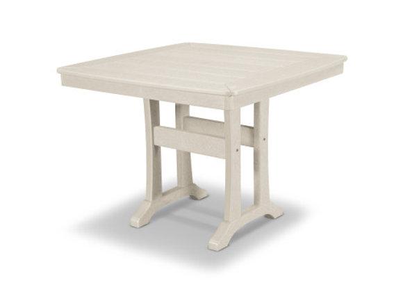 "POLYWOOD® Nautical Trestle 37"" Bar Table PLB81-T2L1"