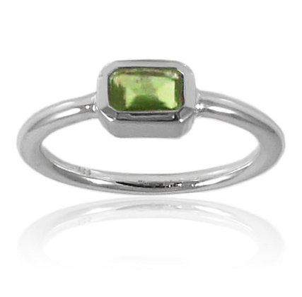 Iceland Rectangle Stacking Ring