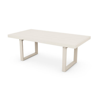 "POLYWOOD® Edge 39""x78"" Dining Table EMT4078"
