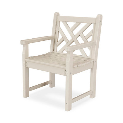 POLYWOOD® Chippendale Garden Arm Chair CDB24