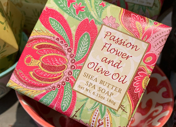 Passion Flower and Olive Oil Spa Soap