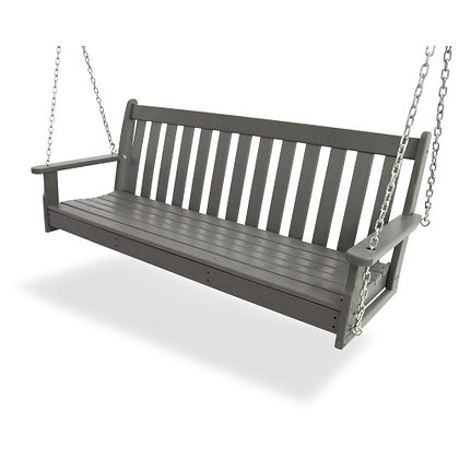 "In Stock POLYWOOD® Vineyard 60"" Swing GNS60 (SHIPPING UNAVAILABLE)"