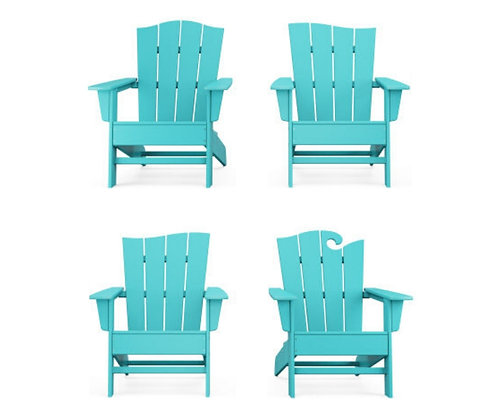 In Stock POLYWOOD® The Wave Chair Set (SHIPPING UNAVAILABLE)