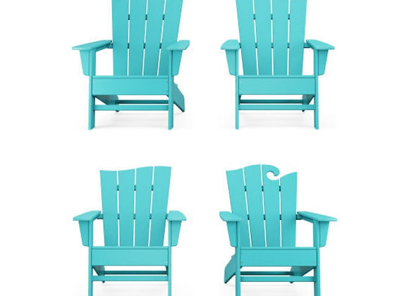 POLYWOOD® The Wave Chair Set