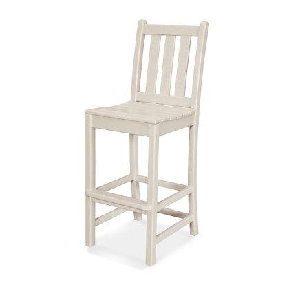 POLYWOOD® Traditional Garden Bar Side Chair TGD102