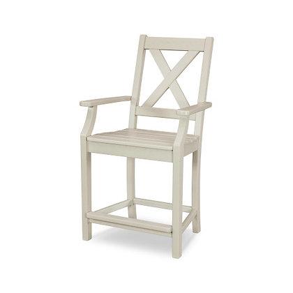 POLYWOOD® Braxton Counter Arm Chair TGD281