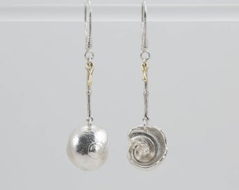Nautilus Dangle Earrings