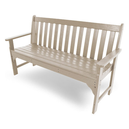 "Quick Ship POLYWOOD® Vineyard 60"" Bench GNB60"