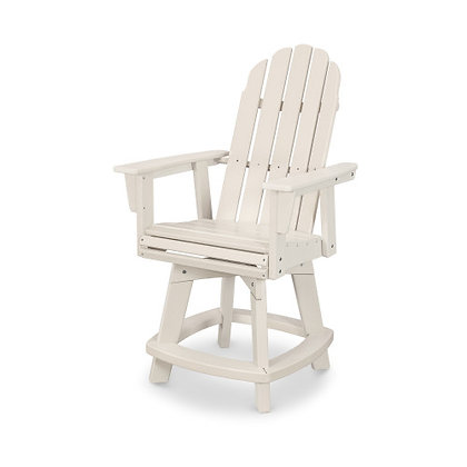 POLYWOOD® Vineyard Adirondack Swivel Counter Chair ADDSV601