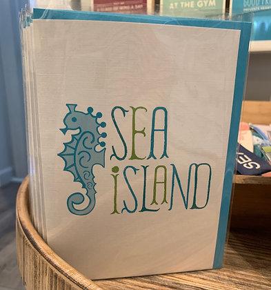 Sea Island Greeting Card