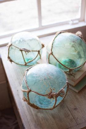 Antique glass float
