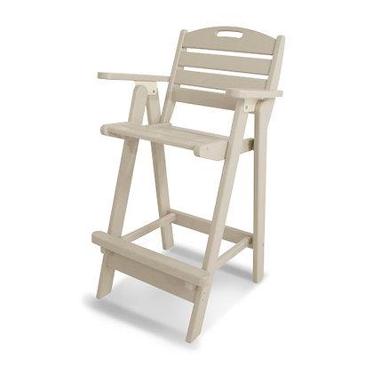 POLYWOOD® Nautical Bar Chair NCB46