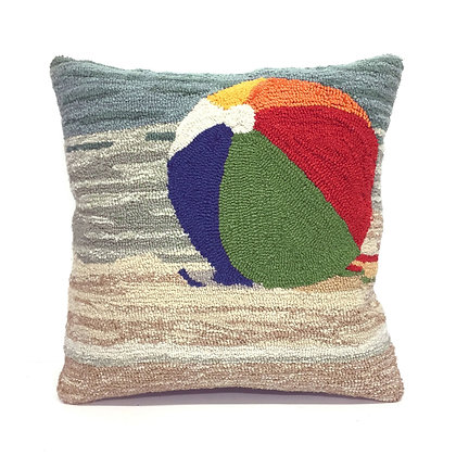 """Frontporch Beach Indoor/Outdoor Pillow 18""""Square"""